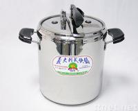 Stainless-steel Pressure cooker 12L